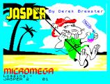 Jasper by Derek Brewster for Micromega - ZX Spectrum Loading Screen