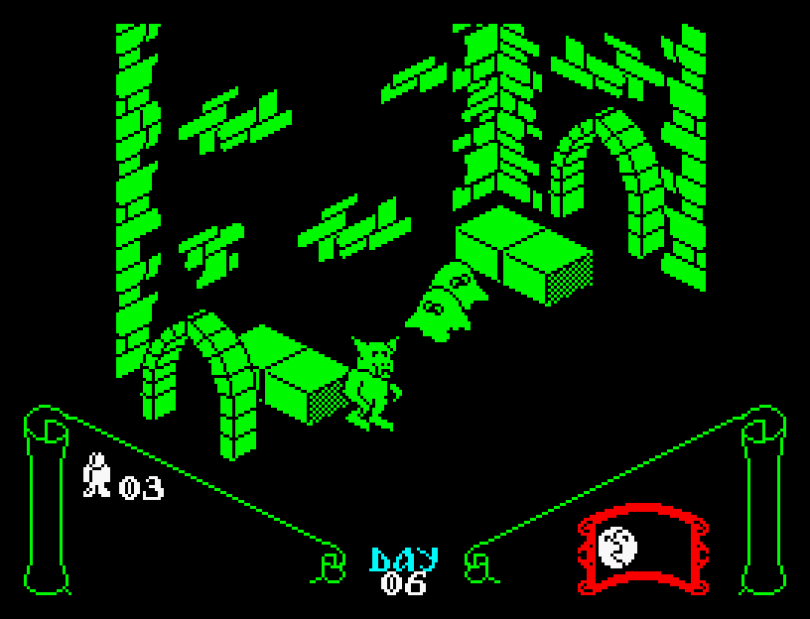 Knight Lore on the ZX Spectrum