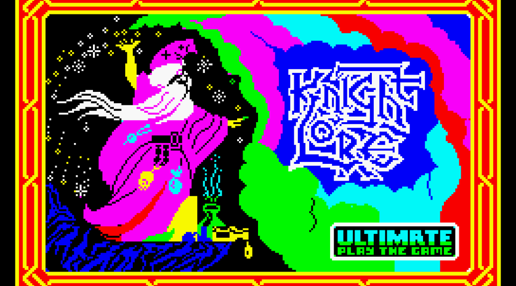 Knight Lore by Ultimate ZX Spectrum Loading Screen