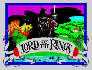 Lord of the Rings by Melbourne House ZX Spectrum Loading Screen