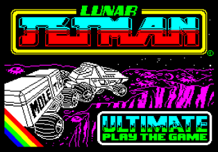Lunar Jet Man by Ultimate ZX Spectrum Loading Screen