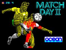 Match Day 2 by Jon Ritman for Ocean, ZX Spectrum Loading Screen
