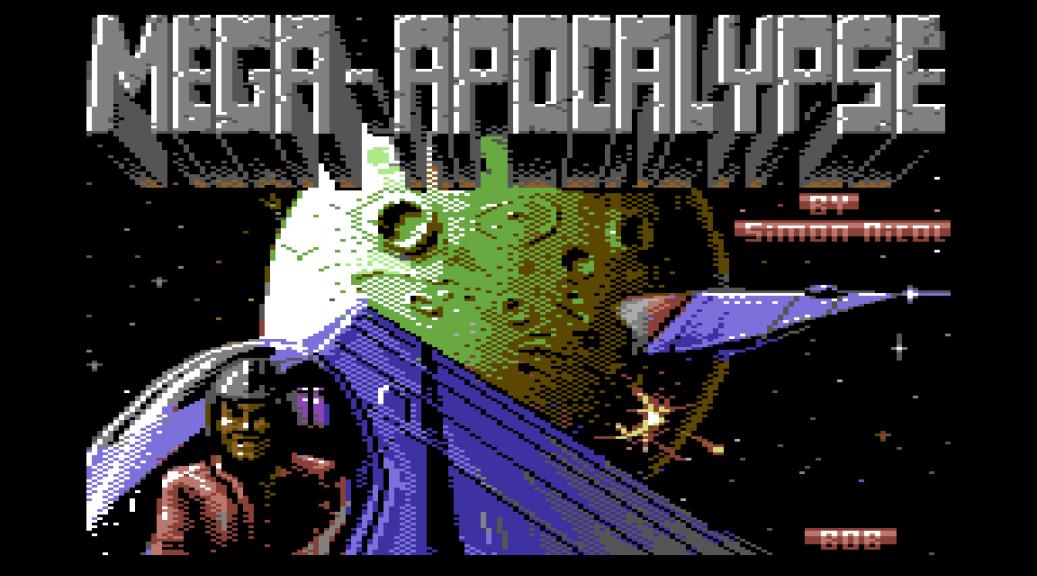 Mega Apocalypse C64 Loading Screen