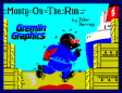 Monty On The Run by Peter Harrap for Gremlin Graphics - ZX Spectrum Loading Screen