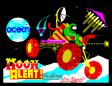 Moon Alert by Ocean, ZX Spectrum Loading Screen