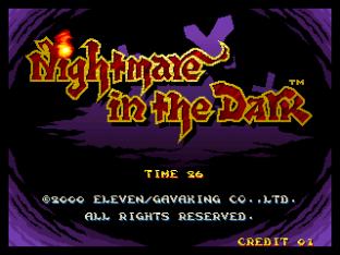 Nightmare in the Dark Neo Geo 01