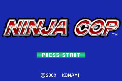 Ninja Cop GBA 01