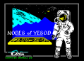 Nodes of Yesod by Odin Computer Graphic Ltd. - ZX Spectrum Loading Screen