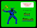 Orc Attack by Creative Sparks 1984 ZX Spectrum Loading Screen