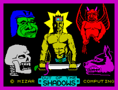 Out Of The Shadows ZX Spectrum