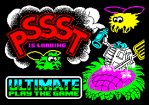 Pssst ZX by Ultimate Spectrum Loading Screen