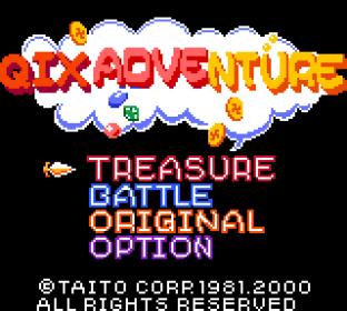 Qix Adventure GBC 01