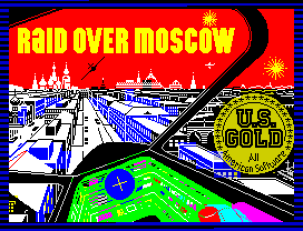 Raid Over Moscow by US Gold ZX Spectrum Loading Screen