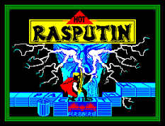 Rasputin by Firebird ZX Spectrum Loading Screen