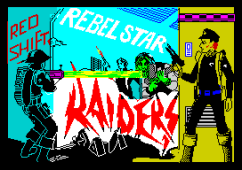 Rebelstar Raiders by Red Shift ZX Spectrum Loading Screen