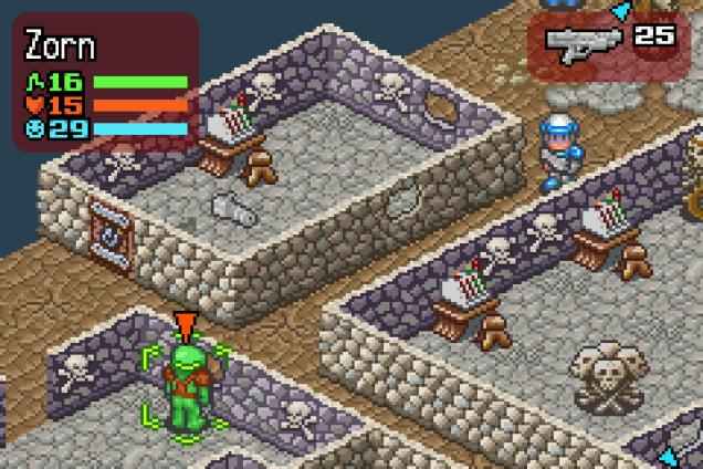 Rebelstar Tactical Command GBA 12