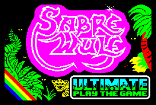 Sabre Wulf by Ultimate ZX Spectrum Loading Screen