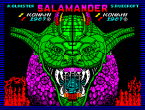 Salamander ZX Spectrum Loading Screen
