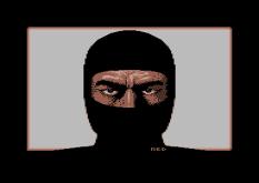 Shinobi C64 Loading Screen
