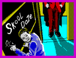 Skool Daze by Microsphere, ZX Spectrum Loading Screen