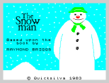 The Snowman by Quicksilva 1983, ZX Spectrum Loading Screen
