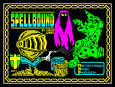 Spellbound by David Jones for Mastertronic Added Dimension, ZX Spectrum Loading Screen