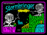 Stormbringer ZX Spectrum Loading Screen