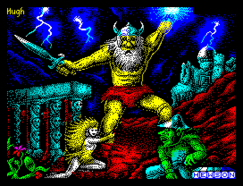 Stormlord by Hewson ZX Spectrum Loading Screen
