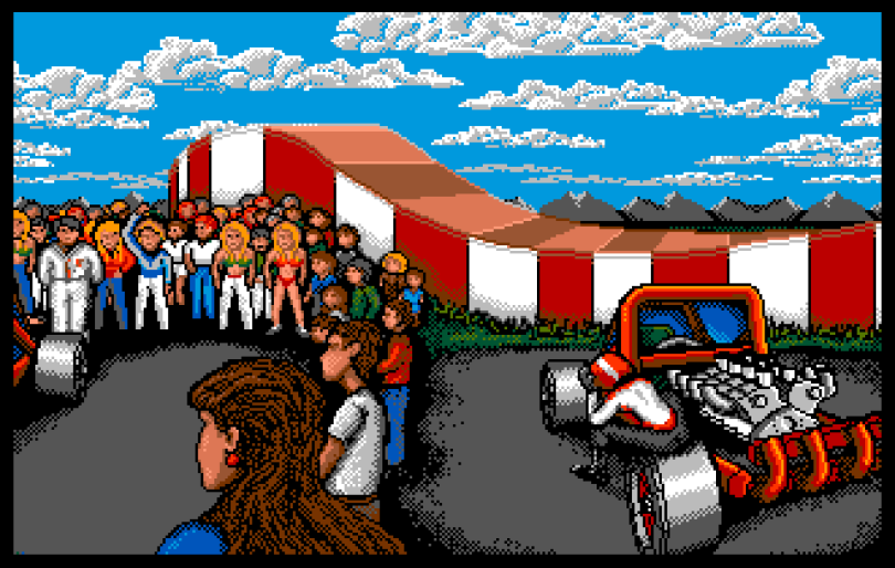 Stunt Car Racer Amiga