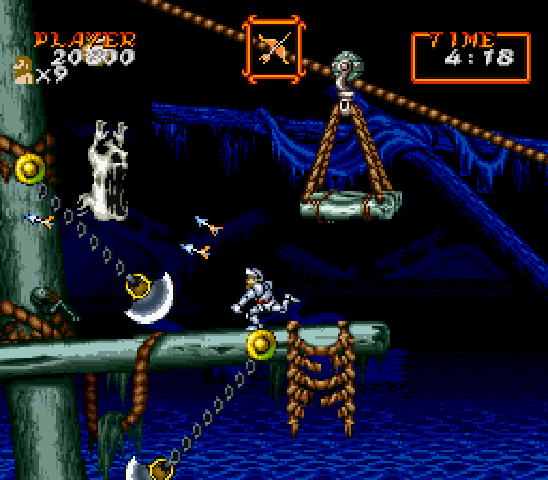 Super Ghouls N Ghosts SNES