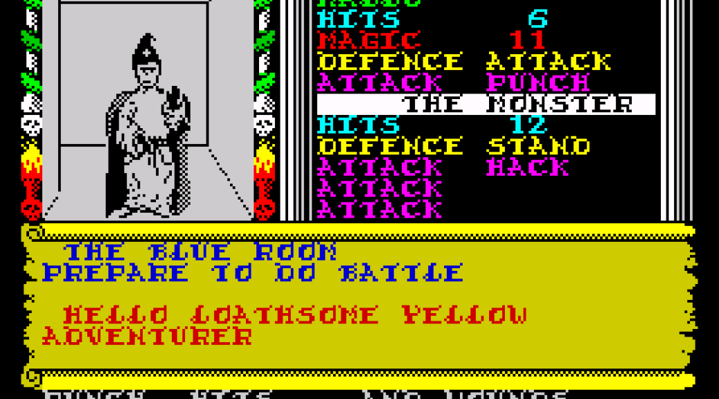 Swords and Sorcery on the ZX Spectrum