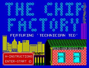 Technician Ted ZX Spectrum 01