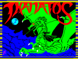 Thanatos by Durrell ZX Spectrum Loading Screen