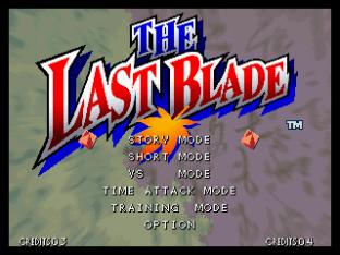 The Last Blade Neo Geo 01