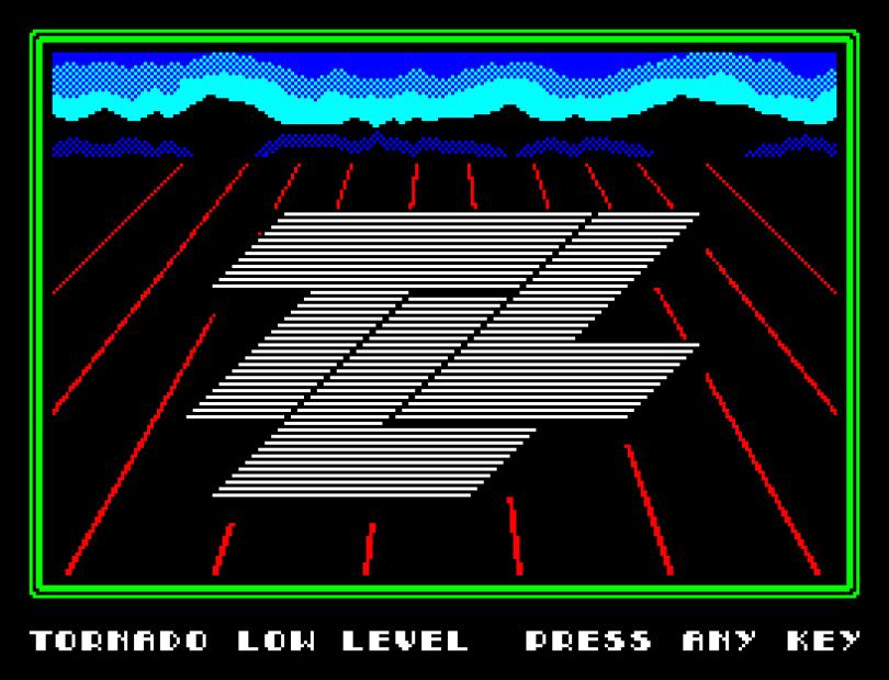 TLL by Vortex ZX Spectrum Loading Screen