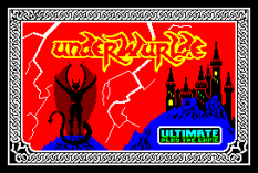Underwurlde by Ultimate ZX Spectrum Loading Screen