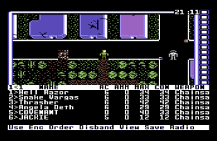Wasteland on the Commodore 64