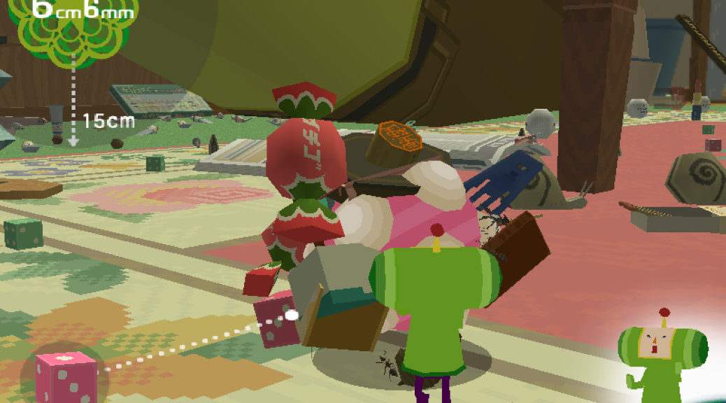 We Love Katamari on the PS2