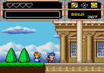 Wonder Boy in Monster World on the Megadrive/Genesis
