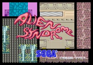 Alien Syndrome Arcade 01