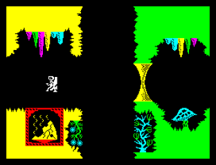 Backpackers Guide to the Universe ZX Spectrum 12