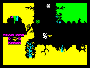 Backpackers Guide to the Universe ZX Spectrum 20