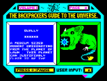 Backpackers Guide to the Universe ZX Spectrum 24