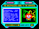 Backpackers Guide to the Universe ZX Spectrum 25