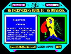 Backpackers Guide to the Universe ZX Spectrum 26