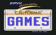 California Games C64 01