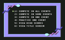 California Games C64 02