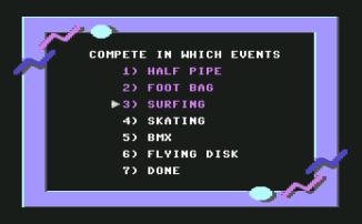 California Games C64 04