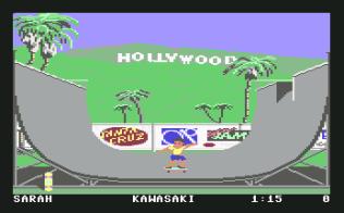 California Games C64 05