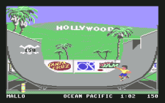 California Games C64 06